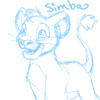 Simba Sketchy by Kuitsuku