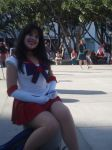 Sailor Mars Cosplay by CharlotteElbourne