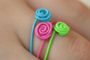 Swirl Rings by RebeccaJewelry