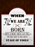 When We are Born by Kingxlol