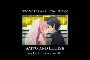 Zero no Tsukaima F: A True Happy Ending by gamera68