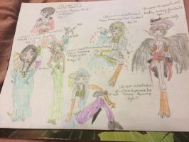 Nick and the Rainbow Land Elves by Amphitrite7