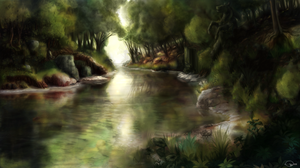 The magical pond 'The Enchanted Spring' by Shalinka
