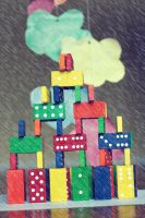 Rain Clouds and Dominos by ambie-bambi