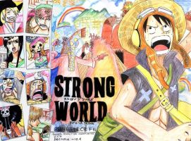 One Piece : Strong World FA by monkey-d-cyntia