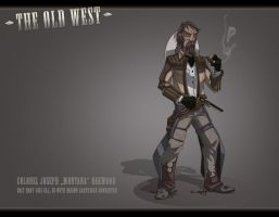The Old West: The Colonel by feuerkorn