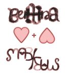 Ambigram: Bettina + Markus by beekay84