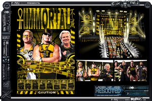 TNA Impact Wrestling Rebooted-Makeovers- Immortal by RAWhale