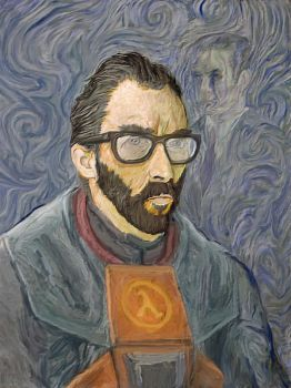 Vincent Van Gordon - half life by Smaggers