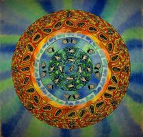 Sea Life Mandala by FractalBee