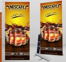 Nescafe Rollup by xmangfx