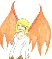 Winged Natla by NatterJay