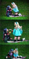 Fanny picnic by WeissEpilog