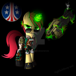 Colonial marine pony: Private Bernice by nnamssew