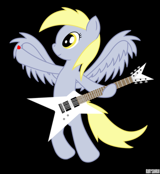 The Art of Shredding, With Derpy by RorySoarin