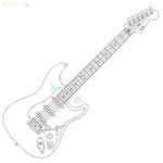 Electric Guitar by arcticfx