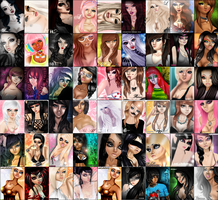 Through The Years: IMVU by LaRenvoize