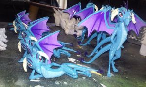 Princess Ember 3D Printed Figures by Gryphyn-Bloodheart