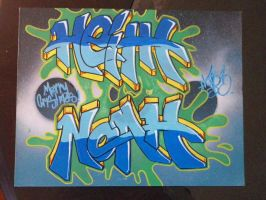 Heith Noah Canvas by LotusOner