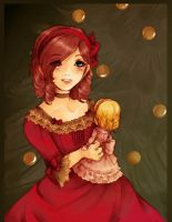 The Christmas Doll by Kathisofy