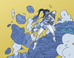 ApocalyptiGIrl is coming... by Andrew-Ross-MacLean