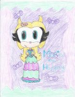 Maria the Hedgehog in her Poofy Dress by CatsvsDogs123