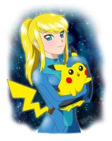 Samus and Pikachu ~ Soft Space by DioGamma
