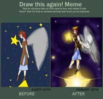 Meme: Before and after by WhateverCat