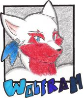 Wolfram Badge by candykittycat