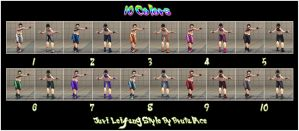 Juri Leifang Style 10 Color Pack - By BrutalAce by BrutalAce