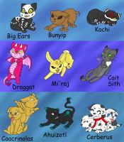 Luckycat's Bestiary by MuseWhimsy