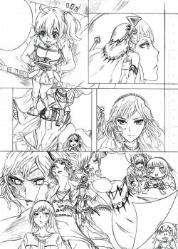 Fate Grand Order part 1 (draft) by alexahuke