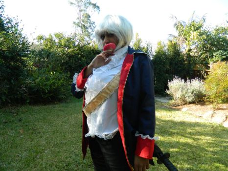 Fem!Prussia cosplay 8 by kimix469