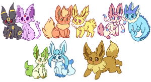 eevee cheebs by UmbreRoshia
