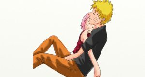 Gift NS4E123: NaruSaku by smash-chan77