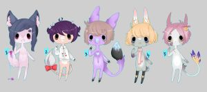 Valentine Set Adopts/closed by Bonelo