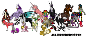 Any Species Breeders - FREE, Characters Added! by Silverstorm1