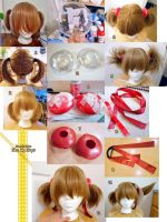 Sword Art Online Silica Wig Progress by LiJianliang