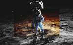 ASTRONAUT. WALLPAPER. by pumadsgfx
