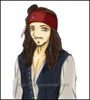 Jack Sparrow by Eilyn-Chan