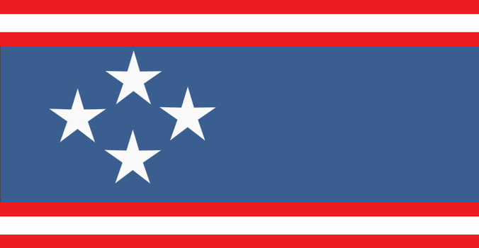 North American Union Flag by Rory-The-Lion