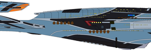 USS Aventine (CaptShade Coloured) by Cotterill