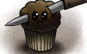 Murdered Muffin by MegaLoler