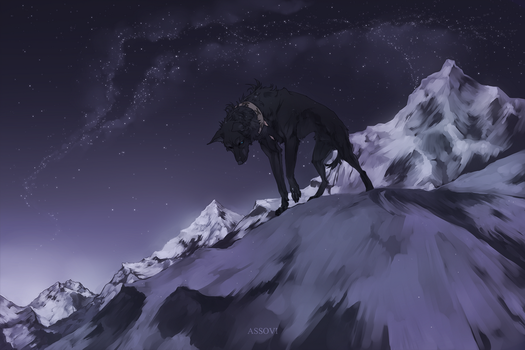 The mountains. by Assovi