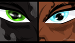 Eyes of the Brothers by KillerSandy
