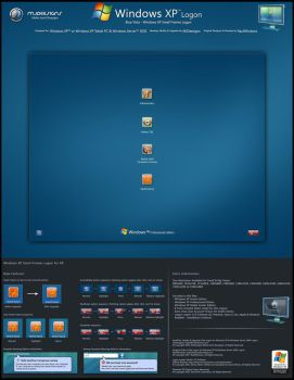 Blue Vista - XP S. Logon v1 by mjamil85