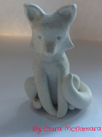 Fox sculpture by Darvia123