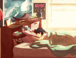 Rest, little demigod. by 1000th