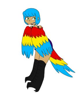 Scarlet Macaw Adopt (Closed) by Scribbles03