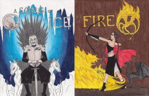 The Hunger Game of Thrones by 13foxywolf666